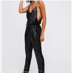 NWOT Free People Sequin Jumpsuit 🔥🔥🔥